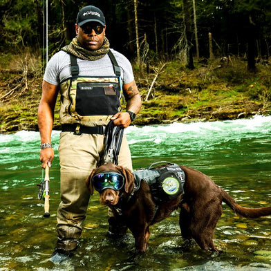 Wet 'n Wild Wednesday: wadding through the Umpqua River searching for those fish!