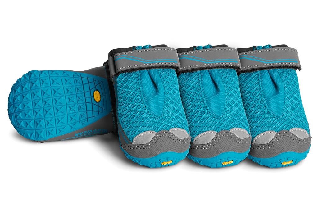 004255b8e343 The Ruffwear Grip Trex dog boots set the standard in paw wear for dogs who  hike