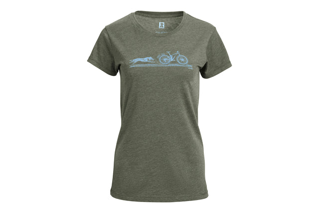 Women's 'TRAIL DOG' T-Shirt
