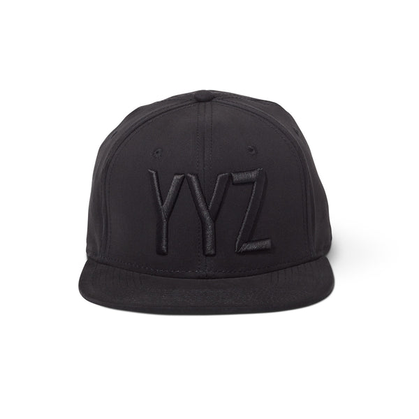 Black on Black Snapback - YYZ