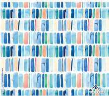Load image into Gallery viewer, Tervis 24oz Waterbottle-Yao Cheng-Vertical Stripes
