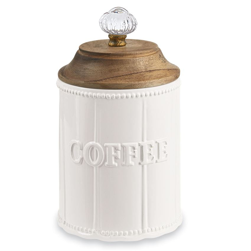 Mud Pie Door Knob Coffee Canister