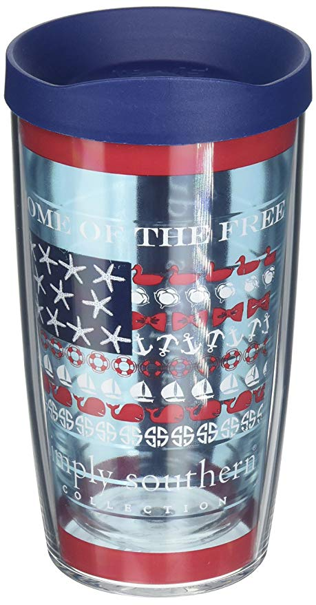 Tervis Tumbler 16oz-Home of the Free-Simply Southern