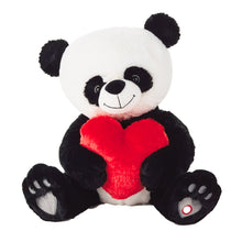 Load image into Gallery viewer, Hallmark Bear Hugs Panda Cub with sound