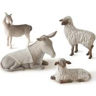 Willow Tree® Figurine - Sheltering Animals for the Holy Family
