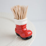 Nora Fleming Mini Santa Boot