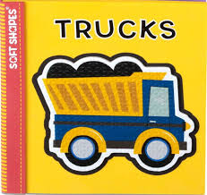 Melissa & Doug-Soft Shapes Trucks Book