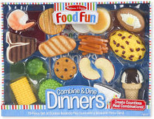 Load image into Gallery viewer, Melissa & Doug- Food Fun-Combine & Dine Dinners