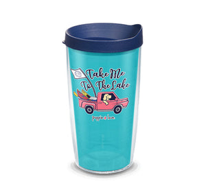 Tervis Tumbler 16oz- Puppie Love- Take me to the Lake Pup