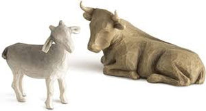 Willow Tree® Figurine - Ox and Goat