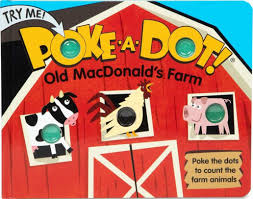 Melissa & Doug Poke-A-Dot Book: Old MacDonald's Farm