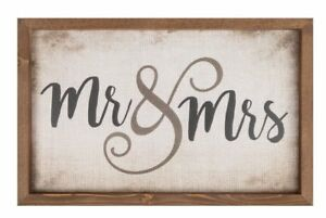 P. Graham Dunn Mr. & Mrs. Sign Width 18