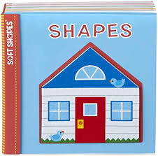 Melissa & Doug Soft Shapes Book: Shapes