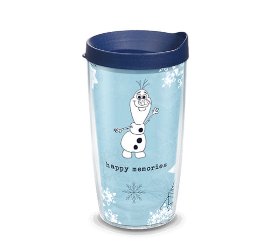 Tervis Tumbler 16oz-Olaf happy Memories-Disney