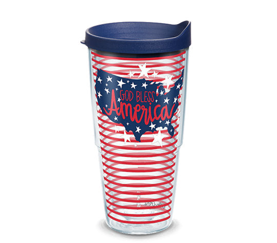 Tervis Tumbler 24oz-God Bless America-Coton Colors
