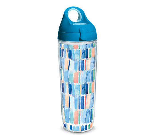 Tervis 24oz Waterbottle-Yao Cheng-Vertical Stripes