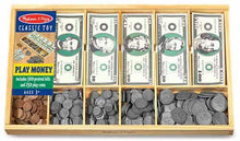 Load image into Gallery viewer, Melissa & Doug-Play Money Set