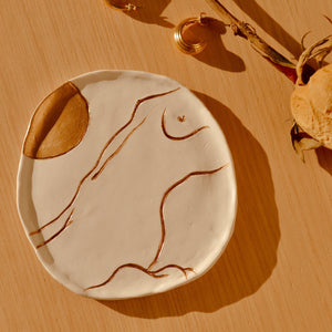 Sun Goddess Ring Dish