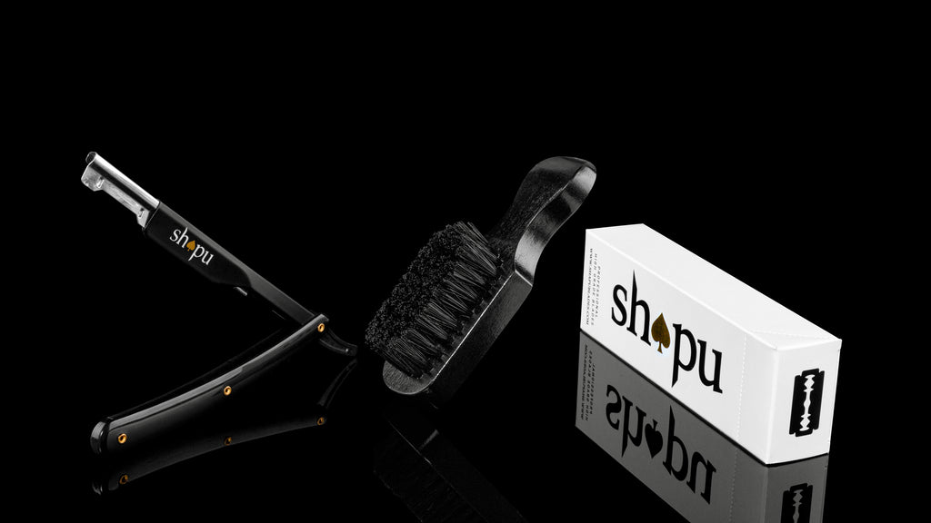 Combo: Black Razor - Brush - 100 Blades