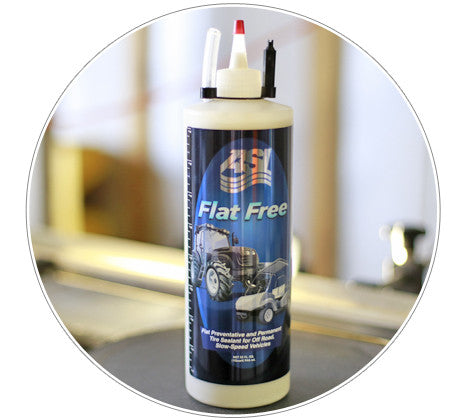 FLAT FREE TIRE SEALANT - OVER THE ROAD