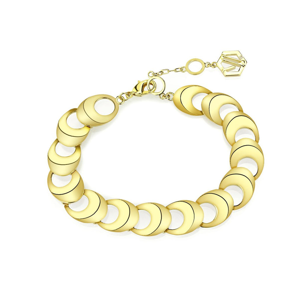Sculpture Bracelet - Gold