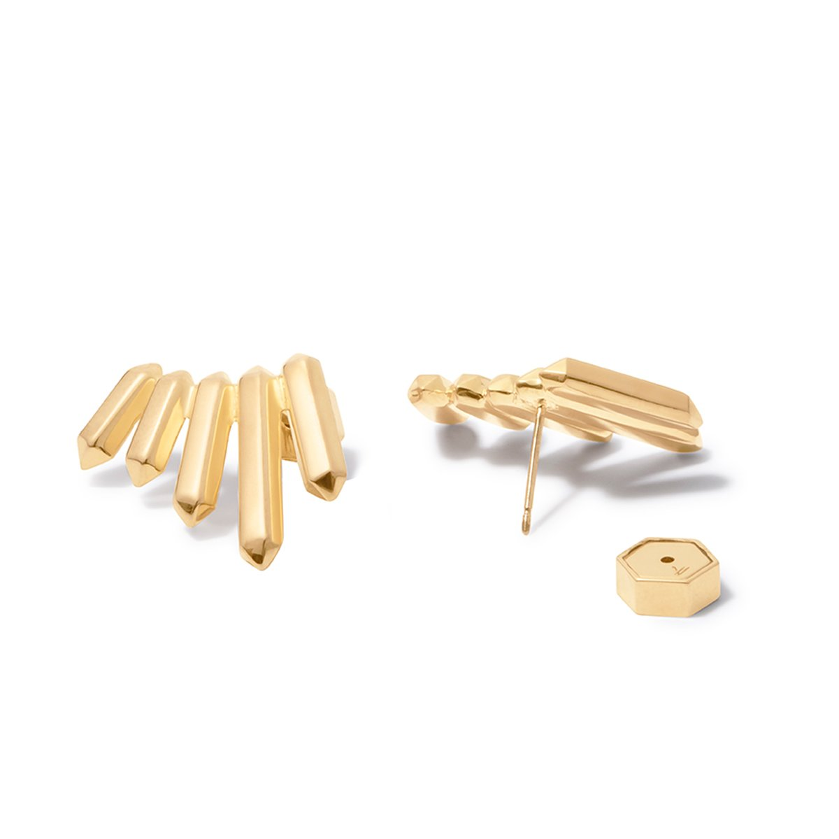 Aurum Ear Climbers - Gold