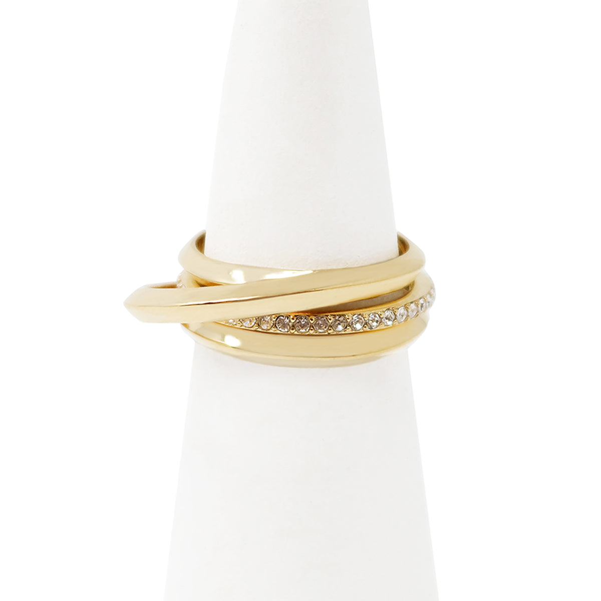Cira Puzzle Ring - Gold