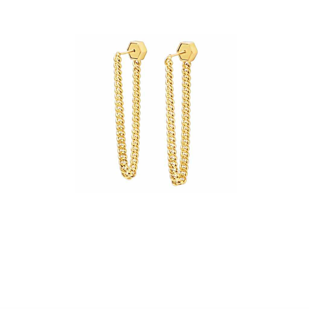 Drop Chain Earrings