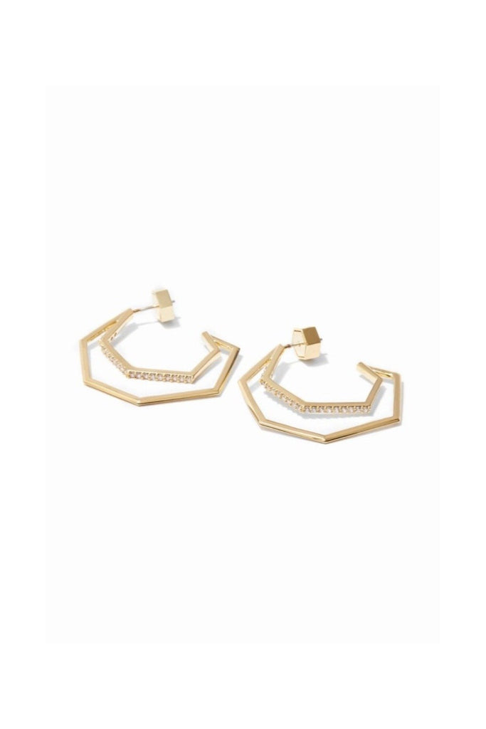 Essential Hoop Earrings - Gold
