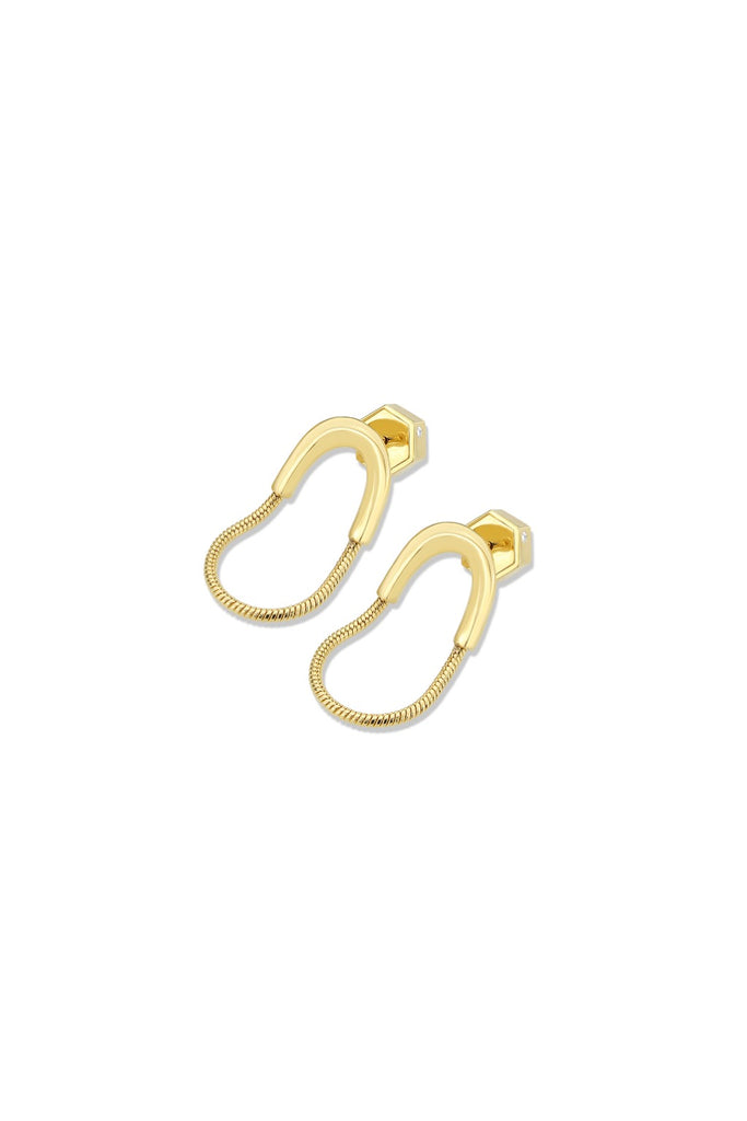 Infini Frontal Earring - Gold