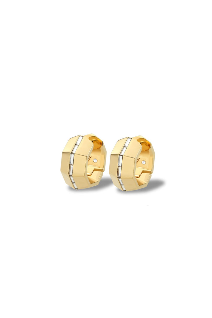 Essential Huggie Earrings - Gold