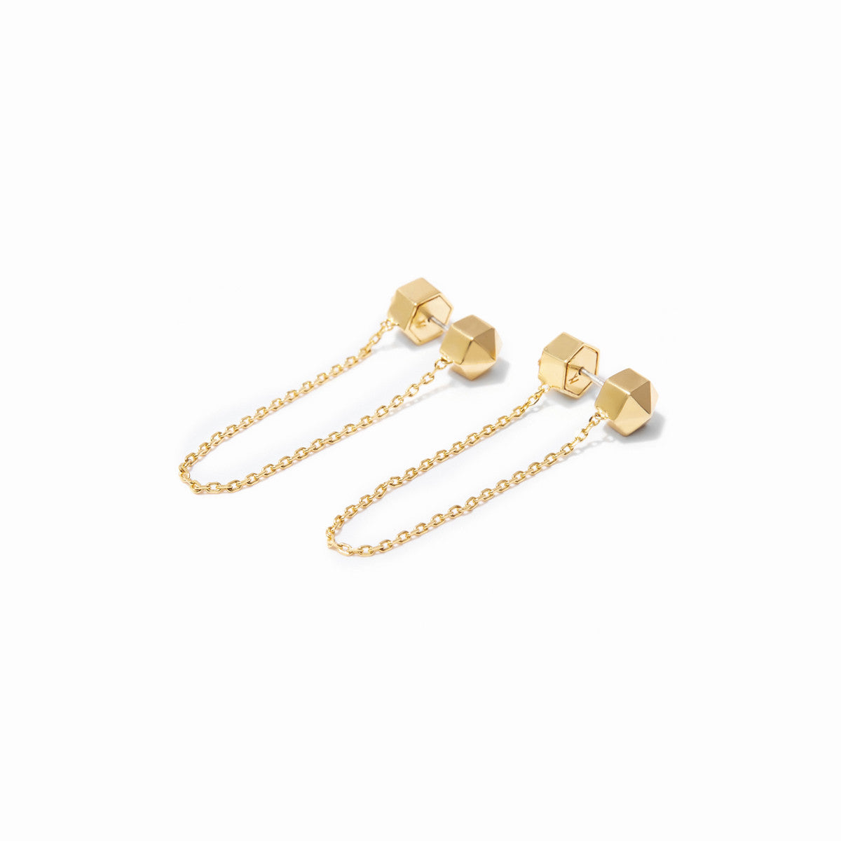 Aurum Chain Studs - Gold