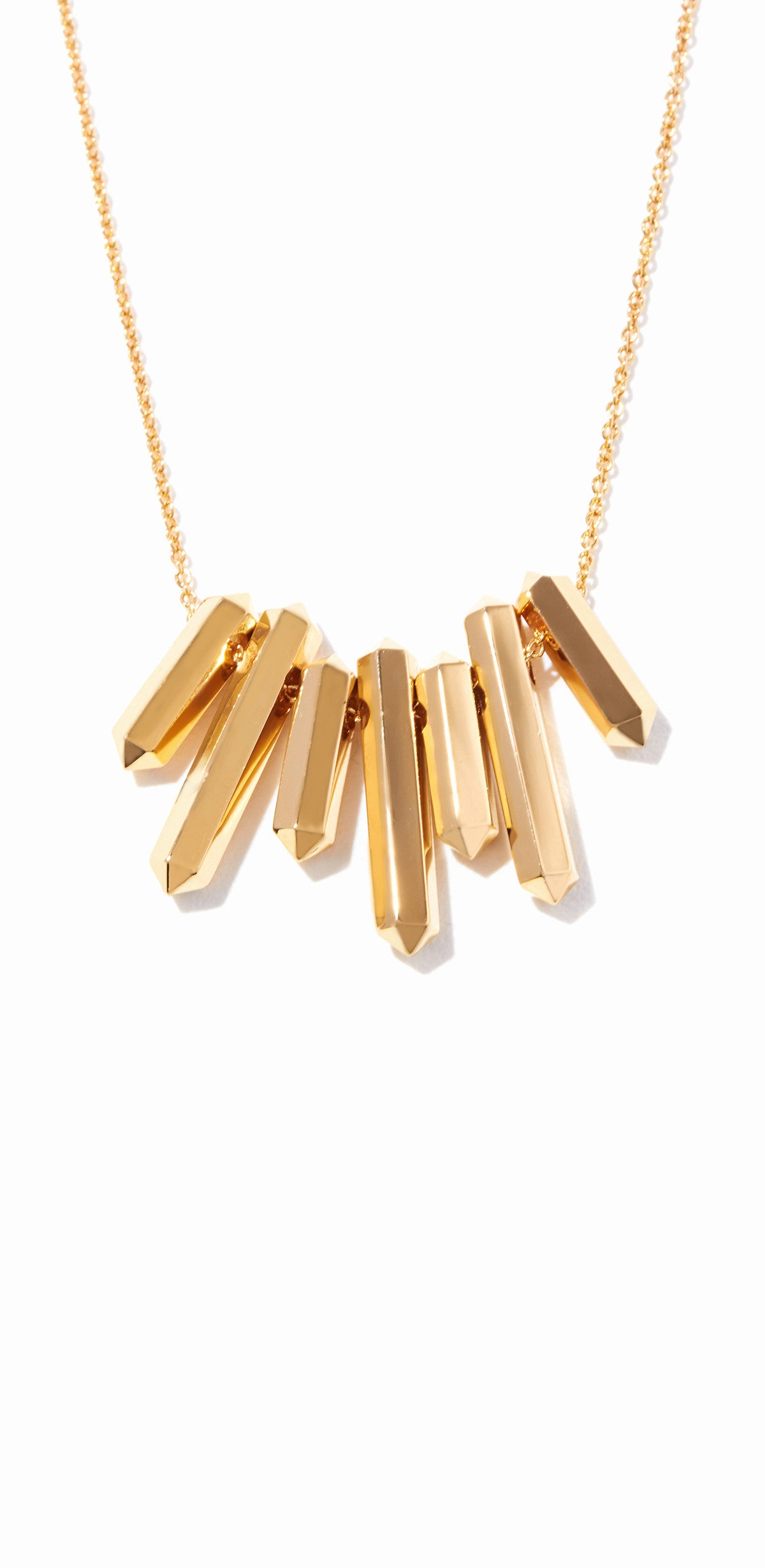 Aurum Small Bib Necklace - Gold