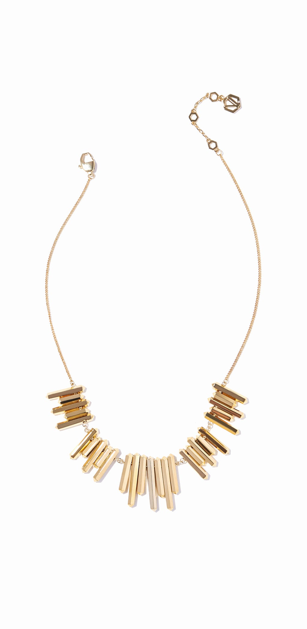 Aurum Bib Necklace - Gold
