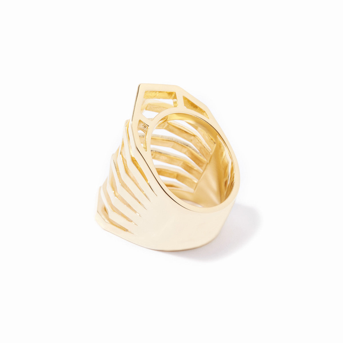 Aris Cut-out Ring - Gold