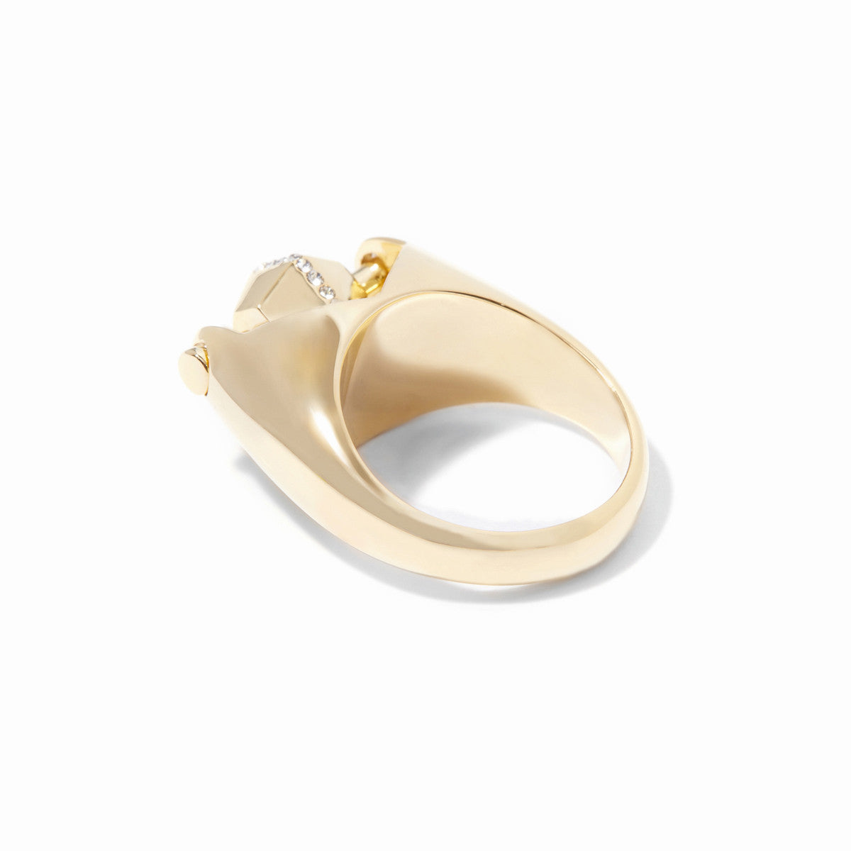 Sixtine Hexagon Statement Ring - Gold