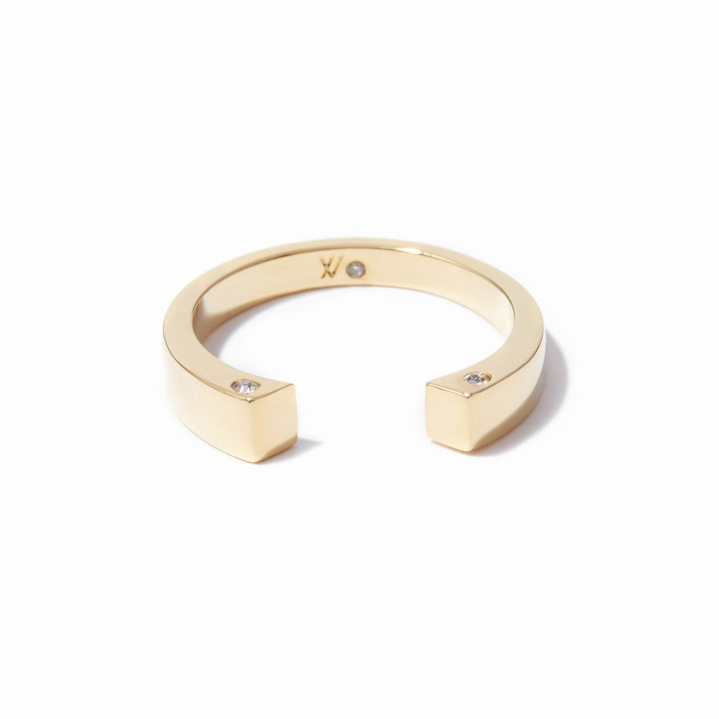Cira Squared Ring - Gold