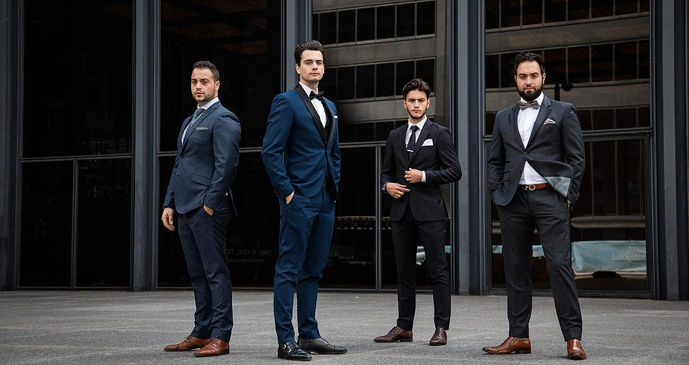 4 Men United | Bespoke Tailoring, Groomsmen & Men\'s Wedding Suits
