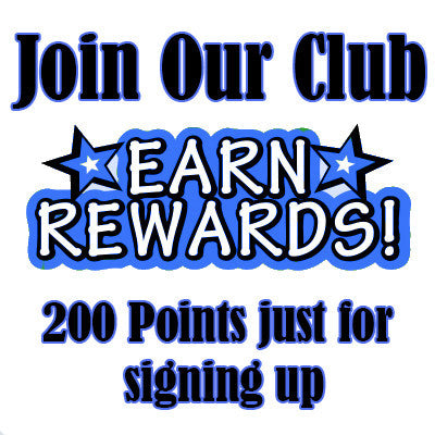 Earn points on every order sign up today!