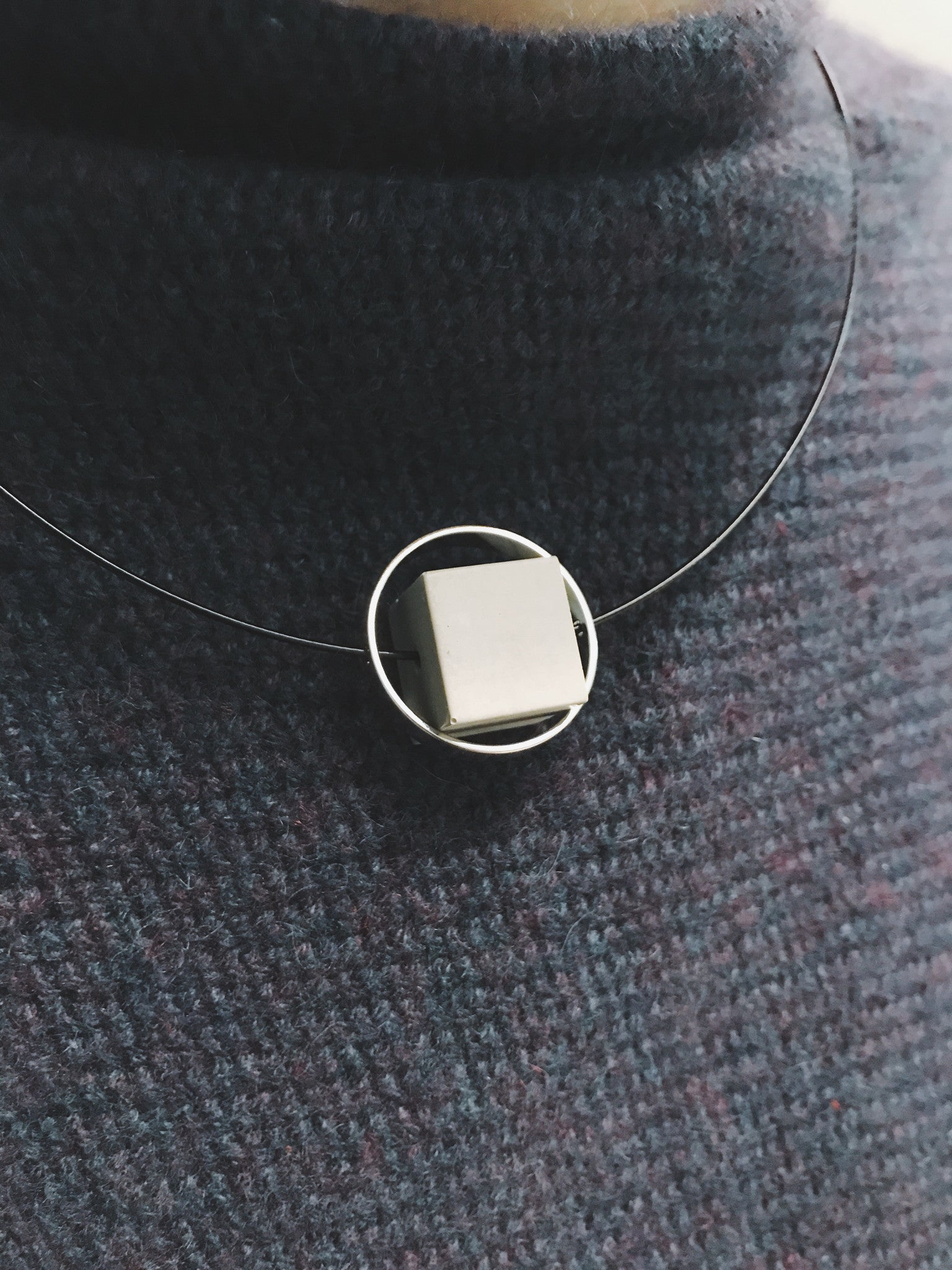Steel and Concrete Necklace | Limited Edition