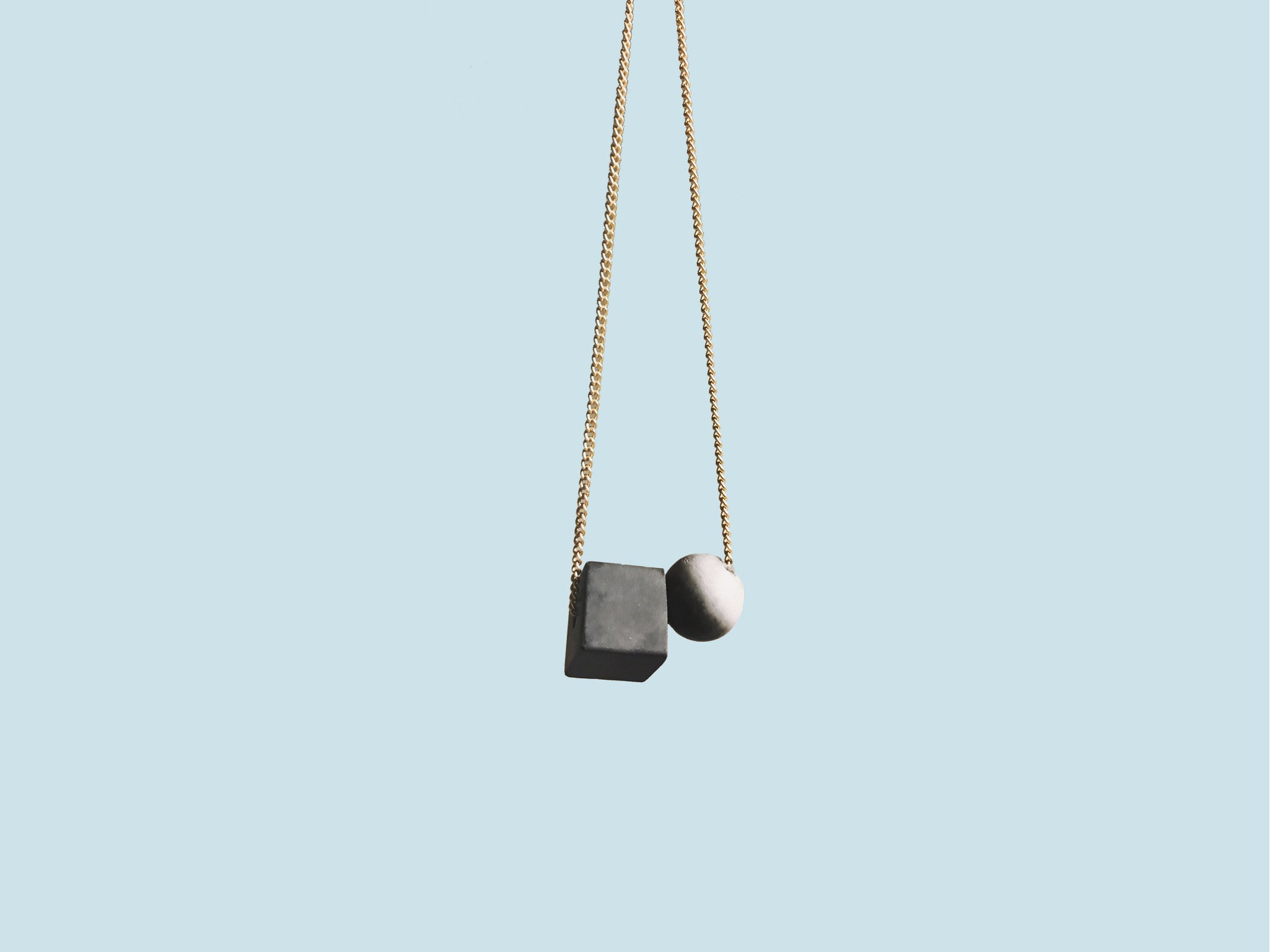Concrete Necklaces | Blocks Of Time Collection