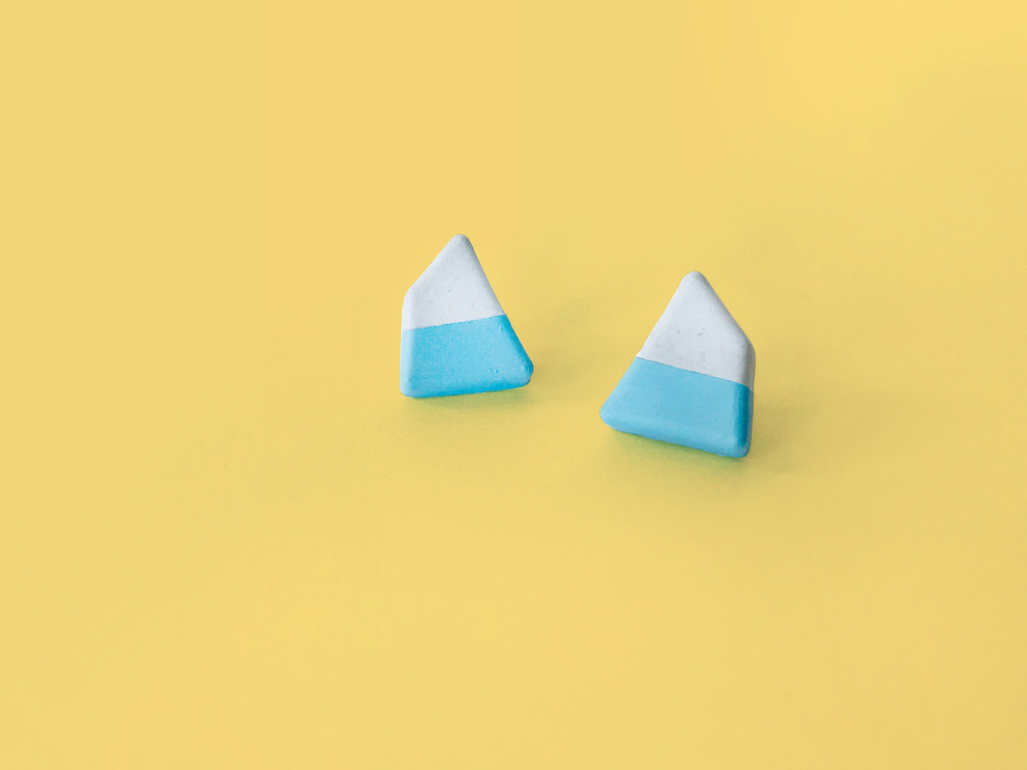 Concrete Earrings - Kite
