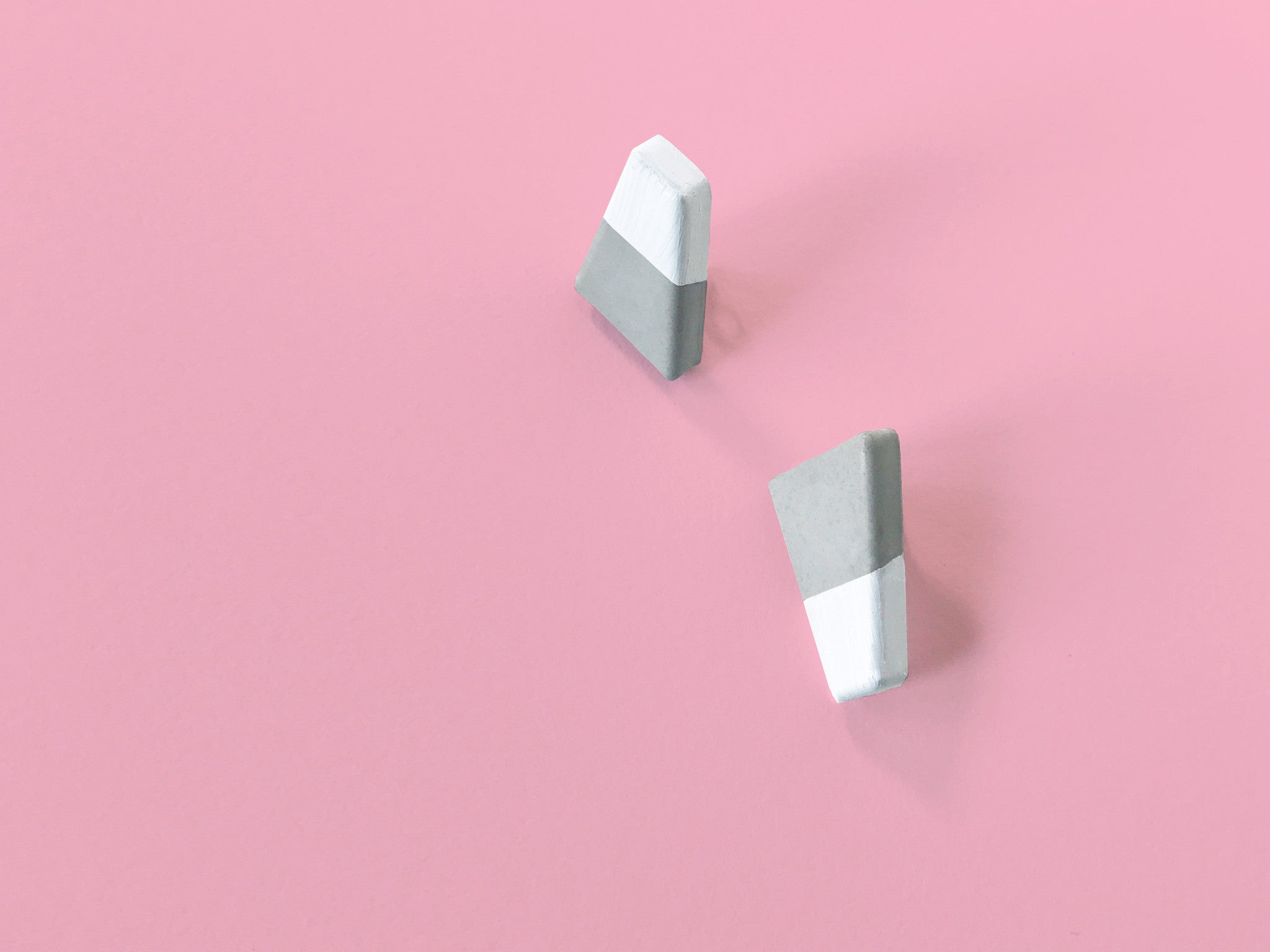 Concrete Earrings - Edge