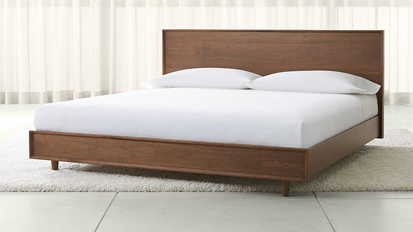 Tate Walnut Bed
