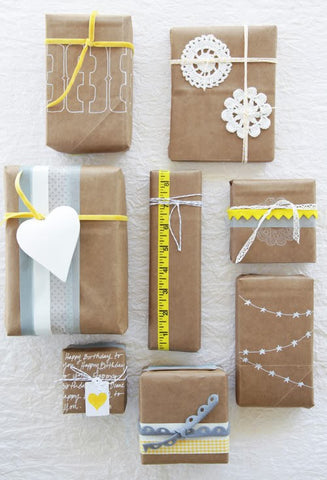 Paper Bag Gift Wrap Ideas