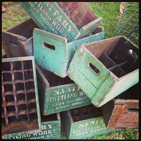 CRATES DIY projects upcycled crates repurposed crates new uses imagination creativity