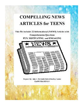 Compelling News Articles for Teenagers