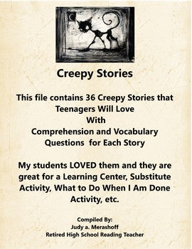 Creepy Stories Even Teenagers Will Love
