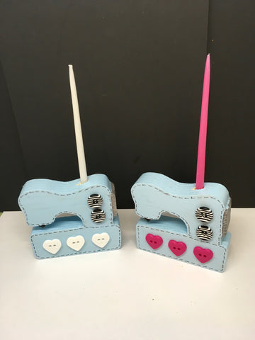 DIY Sewing Machine Candle Holder Painting Packet