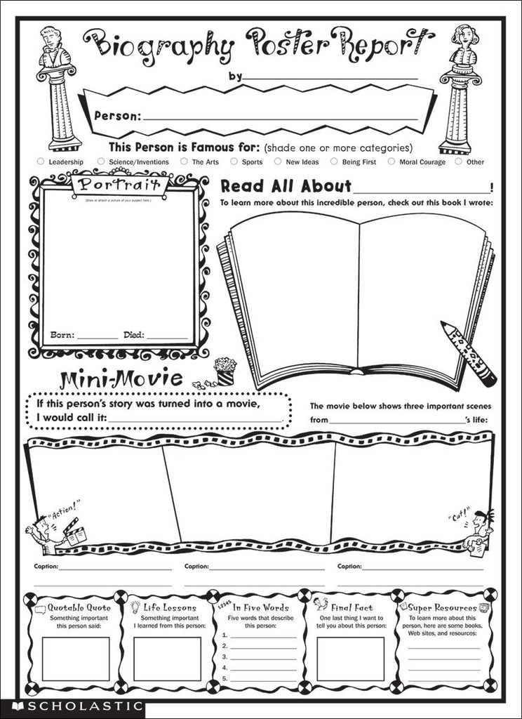 FREE Coloring Pages Reading and Language Arts Style 10 – JAMsCraftCloset